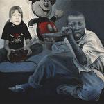 Micky-Maus • 2013 • Öl auf Leinwand • 100 x 120