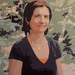 Elisabeth F. • 2009 • Acryl auf Leinwand • 80 x 100