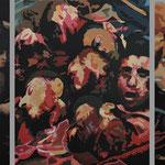 Massaker • 2016 • Triptychon • Öl auf Leinwand • 120 x 260
