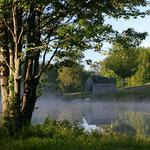 Teichsystem zur Energieversorgung