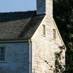 feste Gebäude aus Kalkstein