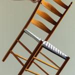 Leichtgewicht Shaker- Sprossenstuhl