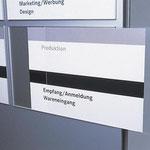 Beschilderungssystem Typ Karlsruhe - Klassisches Design, variable Beschriftungsmöglichkeiten