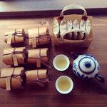 棗茶房(無農薬台湾茶)試飲、販売