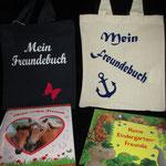 Täschchen für das Freundebuch - Stück 8,- Euro