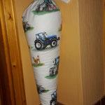 Dies ist eine Schultüte mit Kisseninlet. Inlet für Euro 12,-.