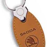 Schlüsselanhänger Leder Skoda Typ 387