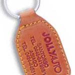Schlüsselanhänger Leder Jollyauto Typ 10 C/G
