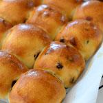 ぶどうの形パン(フィリング あん・チョコチップ・カスタード・ドライフルーツ・チョコカスタード 等)
