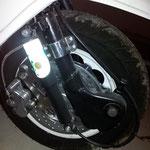 ScootRs Scheibenbremse ist montiert - ein Upgrade für meine Sicherheit!