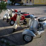 5 Spritzertrinker Mopeds!