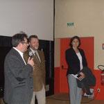 Mrs Gilles Pallier, Michel Moine et Mme la Sous Prefete