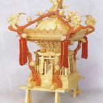 【神輿】 ■木製品 ■【大】台輪寸法:23.5cm