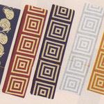 【染角帯】 ■素 材:綿100% ■サイズ:長さ4m/巾8.4cm