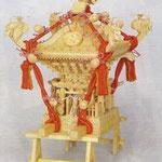 【神輿】 ■木製品 ■【小】台輪寸法:16cm