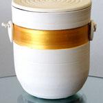 Urne U86 Keramik Goldband