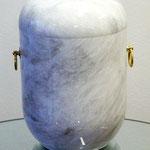 Urne U40 Marmor weiß poliert