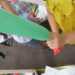 バルーン教室 令和3年8月 園舎
