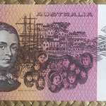 Australia 5 dollars 1983 pk.44d reverso