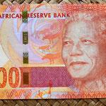 Sudáfrica 200 rand 2012 anverso