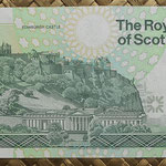 Escocia 1 pound 1999 (128x64mm) pk.351d reverso