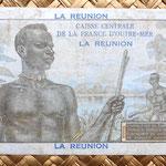 Isla Reunión 20 francos 1947 reverso