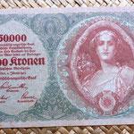 Imperio Austrohúngaro 10000 coronas 1918 anverso