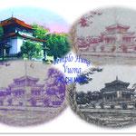 Templo de Hung Vuong -Ho Chi Minh en las 100 piastras Indochina 1942-45
