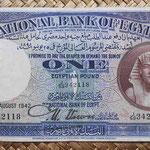 Egipto 1 pound 1942 (160x84mm) pk.22c anverso