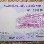 Vietnam del Sur 200 dong 1972 (145x72mm) pk.32a anverso