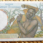 French West Africa 10 francos 1952 reverso