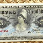 Paraguay 5 pesos 1907 anverso