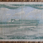 Malawi 20 kwachas 1986 (170x90mm) pk.22a reverso
