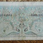 Indonesia 5 rupias 1952 pk.42 reverso