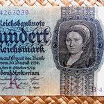 Alemania 100 reichsmark 1924 anverso