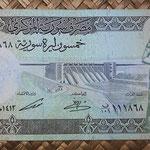 Siria 50 libras 1991 (155x74mm) pk.103e anverso