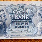 Indias Orientales Holandesas 10 gulden 1939 anverso