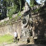 desde el Templo de Preah Khan -pared con garudas