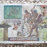 Argelia colonial 500 francos 1950 reverso