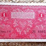 Polonia 1 marka 1919 pk.23 reverso
