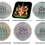 Irlanda del Norte serie libras 1966-2013 Ulster Bank Limited escudo de armas