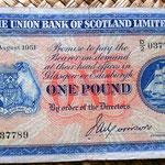 Escocia 1 libra 1951 Edimburgo anverso
