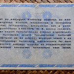 Hungria 10.000.000 adopengo 1946 (135x82mm) pk.141a reverso