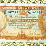 Australia 10 shillings 1939 anverso