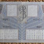 Indias Orientales Holandesas 50 gulden 1946 (148x74mm) pk.93 reverso