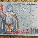 Armenia 100.000 dram 2009 (162x72mm) pk.54 anverso
