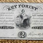 Filadelfia 2 forint 1852 Lajos Kossuth