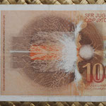 Yugoslavia 1000 dinares 1990 pk.107 reverso