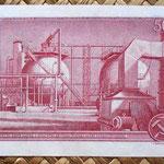 Checoslovaquia 50 korun 1964 reverso