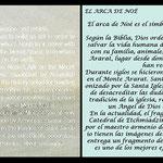 Blister conmemorativo Armenia 2017 -Arca de Noé- texto english y traducción español